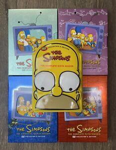 The Simpsons DVD Lot Seasons 2-6 2 3 4 5 6 TV Show DVD Set