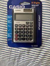 Casio SL-300SV Basic Calculator New In Wrapper!