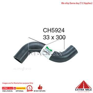 CH5924 Radiator Upper Hose for Hyundai iLOAD TQ - 2.5L I4 Turbo Diesel - Manual
