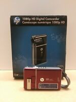 HP 1080p HD Digital Camcorder  V5040u (Burgundy)