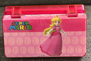Genuine Nintendo DUO Game Case For DS & DS Lite Stylus Pink Super Mario Used