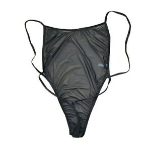 Herren Sexy Bodysuit Trikots Tanktops Gym Singulett Mesh Dessous Unterwäsche