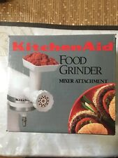 KitchenAid FGA Food Meat Grinder Attachment for Stand Mixer Fine & Coarse NEW