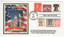 SSS: Colorano Silk  FDC 2007  41c  Forever Stamp  5 Stamp Combo   Sc# 4127
