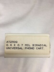 AUDIO TECHNICA AT250G UNIVERSAL phono cartridge BIRADIAL NEW genuine. RARE!