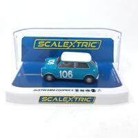 Scalextric C3913 Austin Mini Cooper S - Targa Florio 1962 1/32 Slot Car