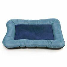 New listing Petmaker Plush Cozy Pet Crate/Pet Bed, X-Large, Blue