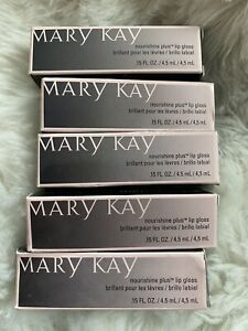 NEW Mary Kay NouriShine Lip Gloss PICK Your Shade! Pink Red Nude Lipgloss