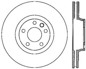 Centric Premium for 03-18 Porsche Cayenne Front Right CRYO-STOP Rotor - st125.33