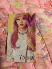 Marmello Youna Official Photocard Card Kpop K-pop With Toploader