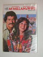 McMillan & Wife: Season Two (DVD, 2011, 4-Disc Set)-Rock Hudson, Susan St. James