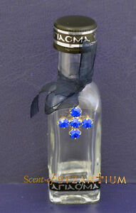 Orthodox Glass Bottle for Holy Water Strass Stones Cross Weihwasser Agiasmos