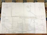 1916 Antique Map of Surrey Wanborough Monkgrove Flexford House Puttenham Heath