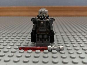 LEGO Darth Malgus Minifigure Star Wars Old Republic 9500