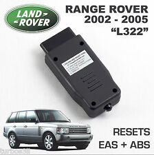 Range Rover L322 EAS ABS RESET tool. Air Suspension kicker fault clear activate