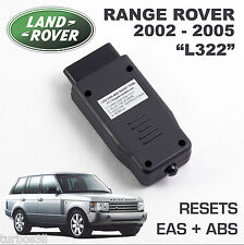 Range Rover L322 Eas ABS reset outil. Air Suspension Kicker faute clair activer