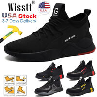 Mens Safety Work Shoes Steel Toe Boots Indestructible Outdoor Casual Sneakers D