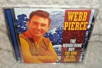Webb Pierce The Wondering Boy - The King Of 50's Country (CD, 2000)