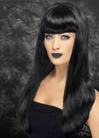 Ladies Gothic Black Babelicious Wig