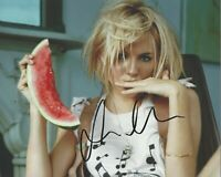 SEXY SIENNA MILLER SIGNED 8x10 PHOTO COA AMERICAN WOMAN SNIPER LAYER CAKE MOVIE