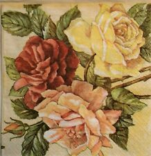 Paper Napkins For Decoupage 3 x Single same ( lot # s53) ☀