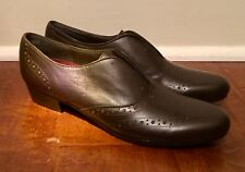 4695d654f0ce Munro Brown Leather Yale Oxford Saddle Shoes Women s Size 7.5