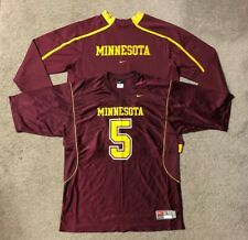 Nike Fit Therma Minnesota Gophers Men's Sweatshirt & Football Jersey - Large