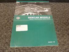 2008 2009 2010 2011 Harley Davidson Sidecar Models Shop Service Repair Manual