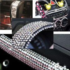 DIY 918Pc Clear Rhinestone Crystal Bling Decor Sticker Car Mobile Decoration 3mm