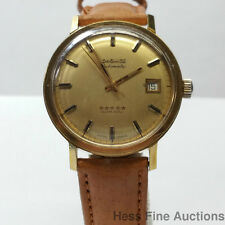 Vintage Longines Automatic Admiral Date Working Mens Yellow tone Dress Watch
