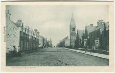 WEST CHURCH STREET, BUCKIE - Banffshire Postcard (P1237)