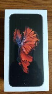 Brand New: Apple iPhone 6s - 32GB - Space Gray (Unlocked) A1633 (CDMA + GSM)