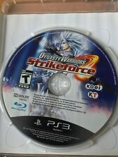 DYNASTY WARRIORS STRIKEFORCE PS3 PLAYSTATION 3 NTSC VERSION CASE & DISC ONLY