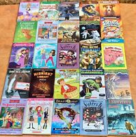 Wholesale Lot of 50+ Children's Kids Chapter Books Instant Library Unsorted lot