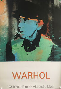 Andy Warhol - Portrait of Man Ray - 1980s - Offset Poster