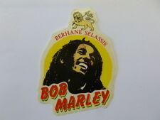 VECCHIO ADESIVO ORIGINALE / Old Original Sticker BOB MARLEY (cm 11x14)