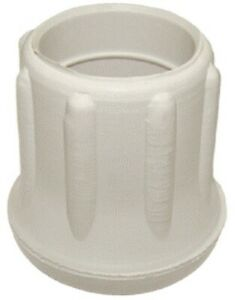 Reinforced 1'' Heavy Duty Rubber Tip for Canes/Crutches/Walkers