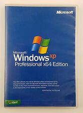 Microsoft Windows XP Professional Pro 64 Bit Vollversion Englisch ZAT-00124