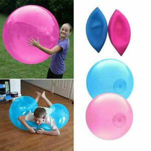 4 Color Bubble Ball Inflatable Ball Fun Outdoor Amazing Super Wubble Bubble Ball