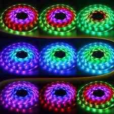 Waterproof IP68 RGB Color Chasing LED Light Strip Kit: Strip Lights+Remote+Power