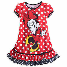 Disney Store Minnie Mouse Nightshirt for Girls Size 7/8