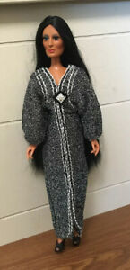 Vintage Mego Cher DRESS Only FORTUNE TELLER In Great, Pre-owned Condition