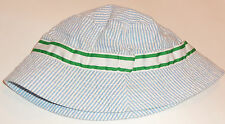 EXCELLENT BOYS Polo Ralph Lauren LINED SEERSUCKER BUCKET HAT  SIZE 8-20