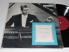 BRAHMS NM Eugene List Plays Piano Sonata 1,2 Scherzo VRS-1016 Vanguard album