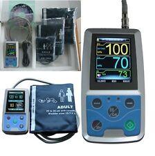 CE&FDA, Contec ABPM50 Ambulatory Automatic Blood Pressure Monitor(NIBP),3 CUFFS