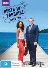 Death In Paradise : Series 2 (DVD, 2013, 3-Disc Set) New, ExRetail Stock (D148)