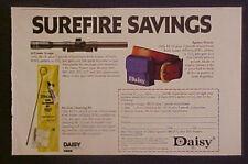 1982 Daisy B-B Gun Ammo Pouch Air Gun Cleaning Kit Ad