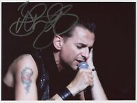 Dave Gahan SIGNED Photo 1st Generation PRINT Ltd 150 + Certificate (2)