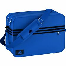 ADIDAS 3 STRIPE ENAMEL BLUE MESSENGER BAG ONLY £39.99.....FAST DISPATCH