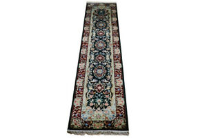 Carpet Runners for SALE Green 2 ft 6 in x 12 ft French Rayon Mix 31 x 145 in